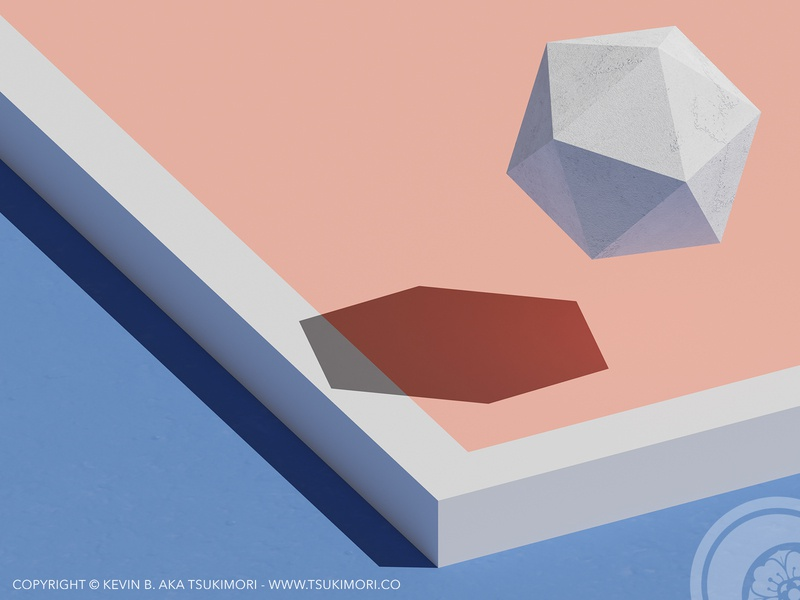 Abstract 3D #01 low poly lowpoly blender3d blender 3d blender 3d abstract design abstract art abstract