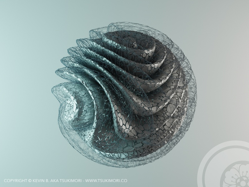 Abstract geometry #02 render abstract design abstract art abstract blender 3d blender3d blender 3d