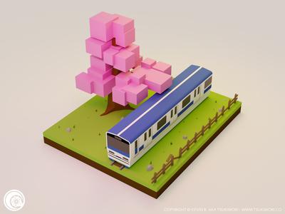 Take the train - B3DP