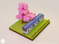 Take the train - B3DP