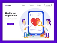 Healthcare Web illustration