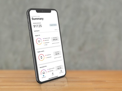 UI Design financial app finance ui ux design ux
