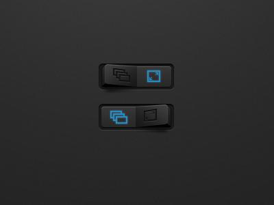 Rocker switch button gray rocker switch ui iphone ios
