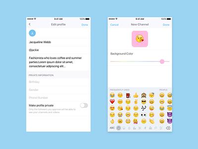 TV App notification video activity feed home flat ios app tv profile emoji