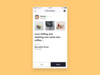 Coffee Buddies iOS app