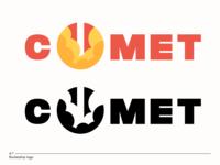 comet - rocketship logo