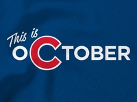 This is October