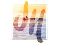 JH Surf Monogram