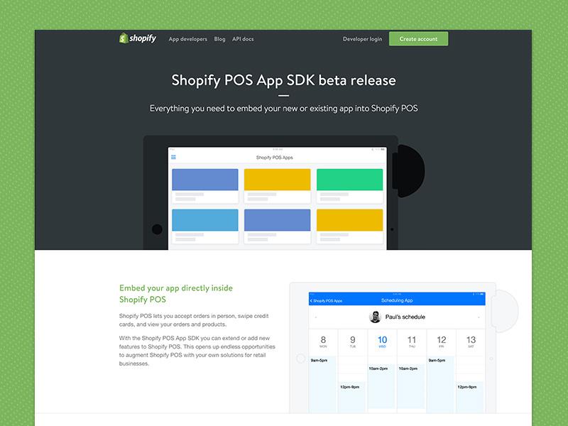 Shopify Pos App SDK by Filippo Di Trapani for Shopify on Dribbble