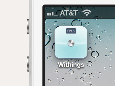 Withings Redesigned iOS Icon ios iphone home homescreen icon ios icon