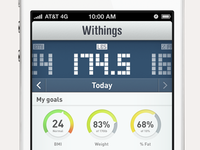 Withings Redesign