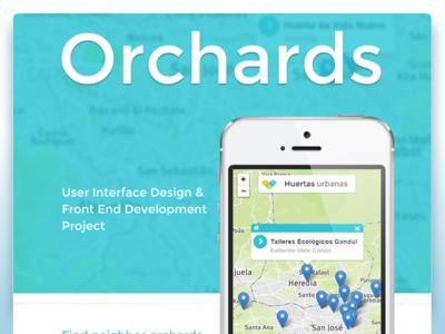 Urban Orchards Mobile Webapp