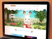 ToyStore Ecommerce Web Design