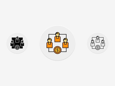Business Group Icons Set