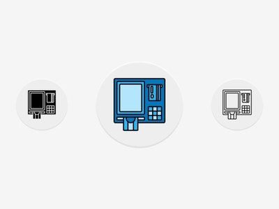ATM Icons Set