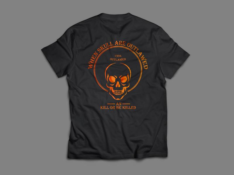 T Shirt skull sketch skull design illustrator texture tshirt