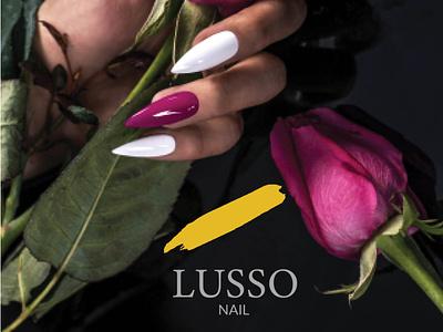 LUSSO NAIL MAGAZINE ui simple illustration website adobe full magazine magazine indesign