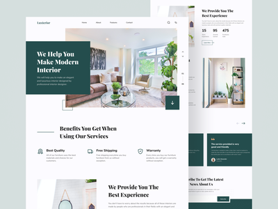 Furniture Website Designs Themes Templates And Downloadable Graphic Elements On Dribbble
