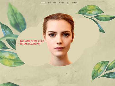 Dr Ali Ramezani / Official Website طراحی وب webdesign ui dr ali ramezani dr ali ramezani علی جدیدی ali jadidi