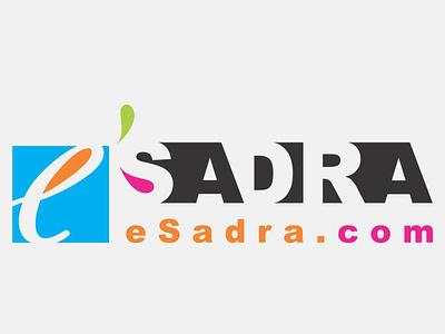 e Sadra Logo typography design logo