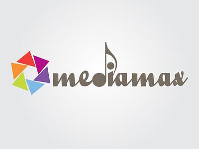 Media Max Logo branding design logo
