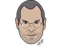 Steve Jobs Signature Cartoon