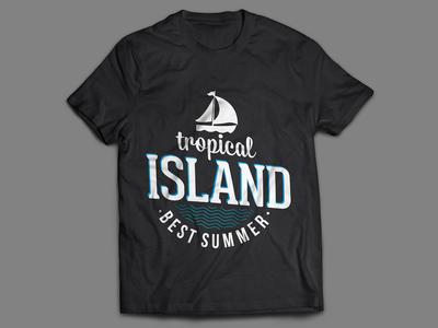 Tropical Island t-Shirt