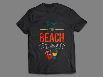 Enjoy The Beach Summer T-Shirt