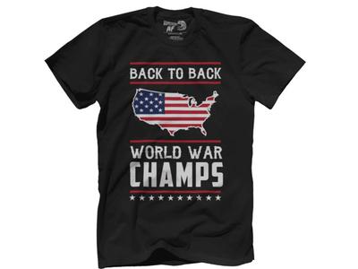 Back to Back World War Champ T-shirt