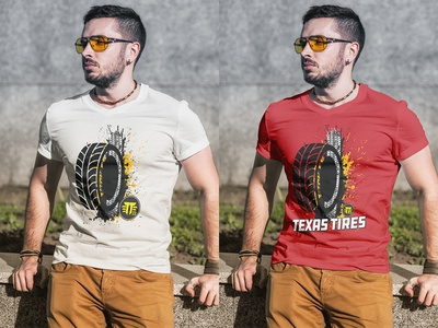 TAXES TIRE T-SHIRT