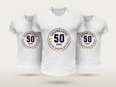 CELEBRATING 50 YEARS T-SHIRT