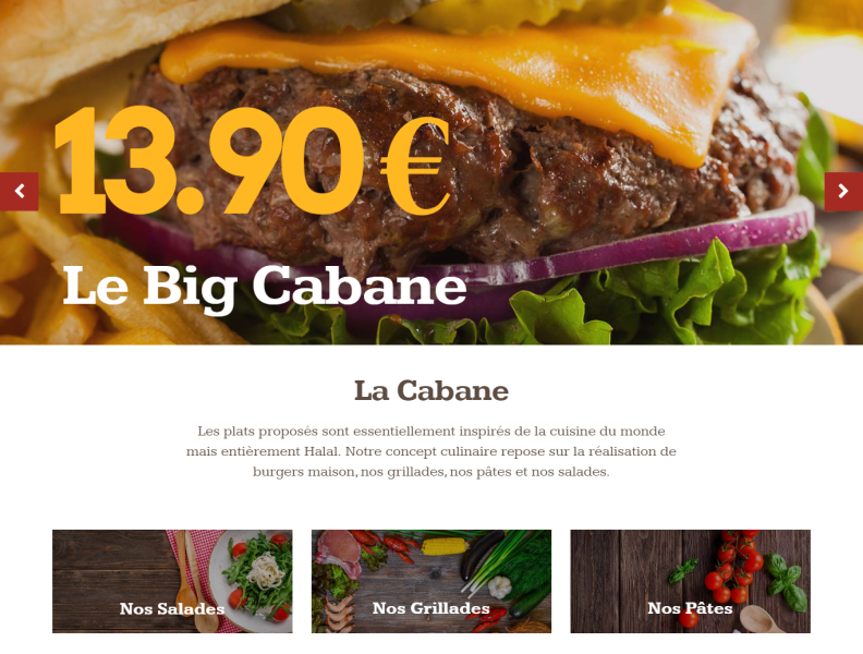 La Cabane Halal Restaurant Official Site By Subhan Zaheer On