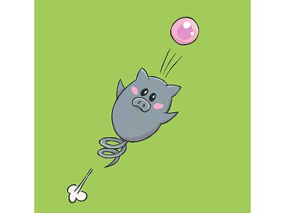 100 Days of Sketching - Spoink illustration drawing sketching fanart digital art pokemon spoink
