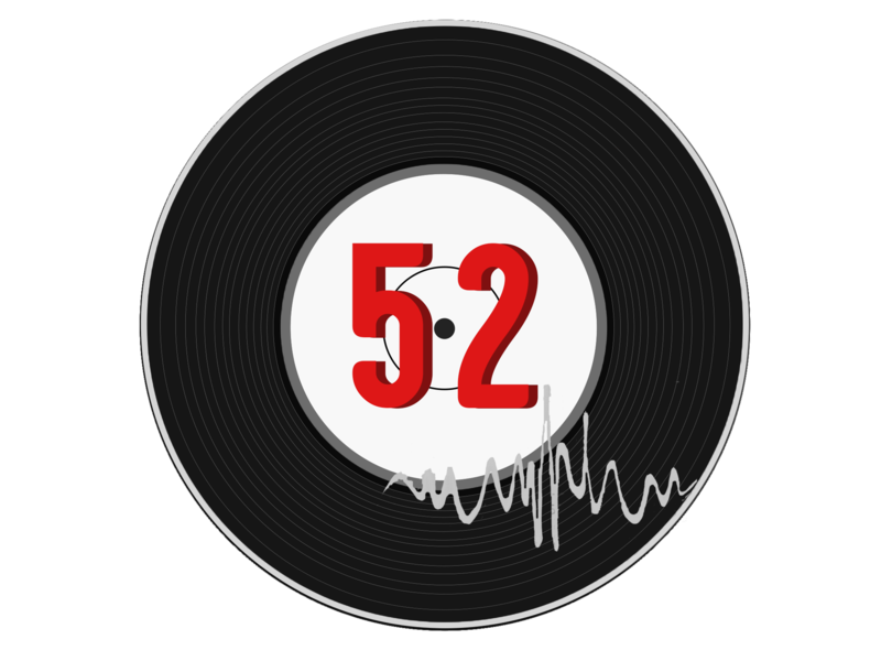 52 Records Logo 2018 adobe photoshop logo design