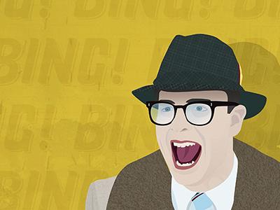 Ned Ryerson ned ryerson groundhogs day illustration bing!
