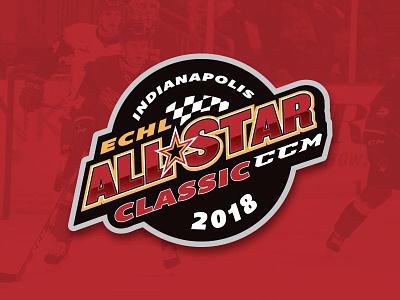 ECHL All Star Classic logo all star echl hockey