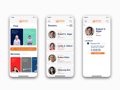 Medical Group - Find A Doctor Mobile App - Healthcare