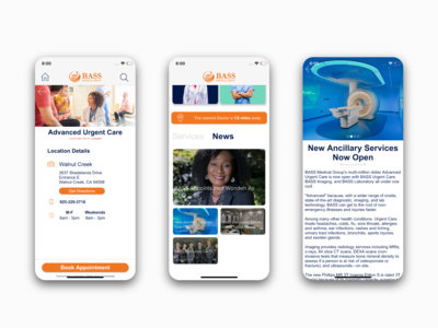 Medical Group App - Healthcare