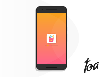 TOA Grocery App e-commerce food grocery shop ui ux mobile app ios android store recipies