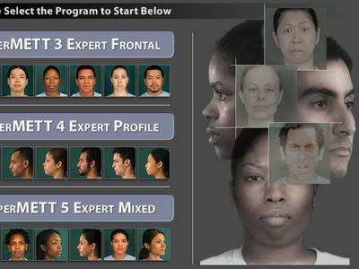 Micro Expression Training Tool - iPad App UX/UI Design
