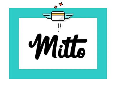 MITTO, Fincance for Generation Z digitaldesign writing write logo design logodesign logotype logo card mitto teenfinance teenbanking teenapp teens teenagers generationz app innocells finance digital banking