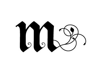 Drimmmle type typography glyph custom