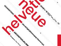 Helvetica Neue Poster