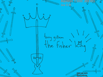 The Fisher King erin lynch terry gilliam poster movie poster design the fisher king