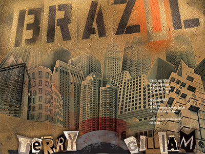 Brazil brazil poster movie erin lynch terry gilliam design graphic design poster design