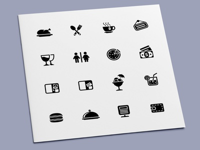 Restaurant Icons meal drink food restaurant icon set icons icon design icon