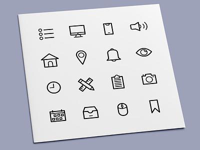 User Interface Icons user interface interface ui icon set icons icon design icon