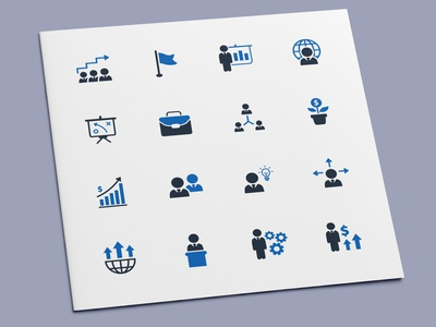 Business Management Icons teamwork group team management leadership manager leader finance businessman business icon set icon design icons icon