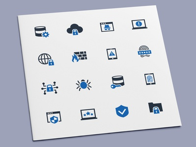 Internet Security Icons data server database technology computer network security internet icon set icon design icons icon