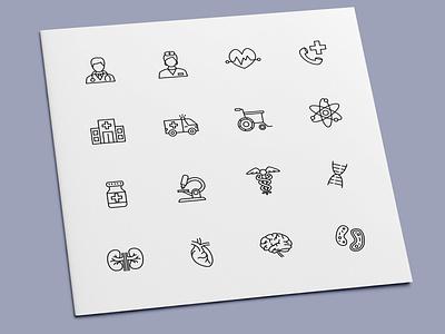 Medical Icons human organs anatomy health nurse doctor hospital healthcare medical icon set icon design icons icon